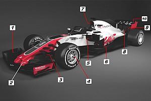 Formule 1 Analyse Analyse: 10 belangrijke punten van de Haas VF-18