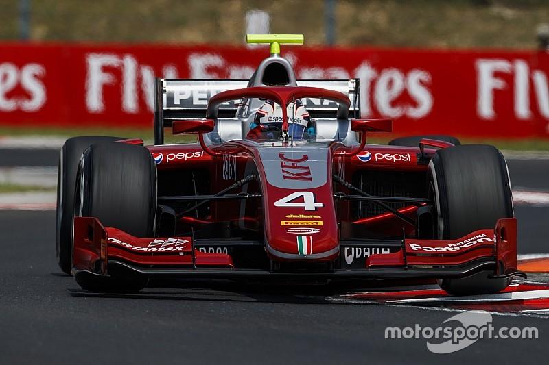 Hungaroring F2: De Vries beats charging Norris in drying thriller