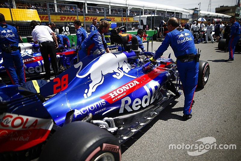 Toro Rosso вернется к новой версии мотора Honda на Гран При Бразилии