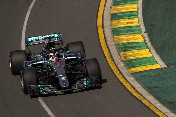 Formula 1 Practice report FP2 GP Australia: Hamilton masih kokoh di posisi teratas