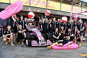 Formula 1 Ultime notizie Force India: per il 2018 è saltato il cambio di nome del team