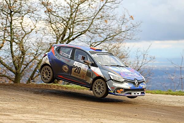 Schweizer markenpokale Etappenbericht Rallye Pays du Gier: Styve Jude gewinnt die Clio R3T Alps Trophy