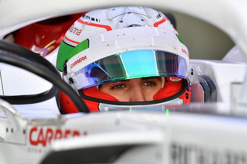 Джовинацци отработает первую тренировку Гран При Германии в Sauber