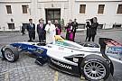 Fórmula E El Papa Francisco bendice la Fórmula E antes del e-Prix de Roma