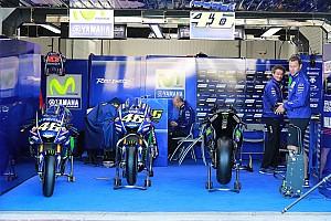 MotoGP Ultime notizie La Yamaha completa l'ultimo test dell'anno sotto alla pioggia