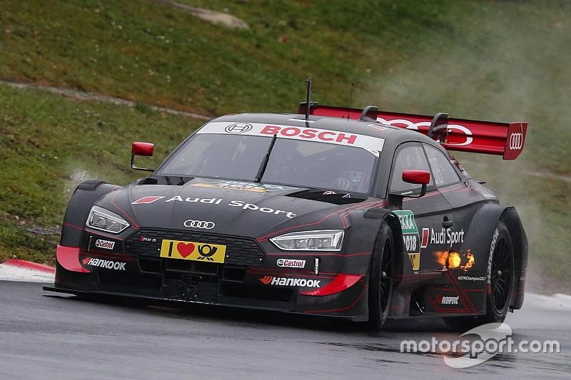 Rast: Erschwerte Bedingungen bei erstem Test mit neuem Audi