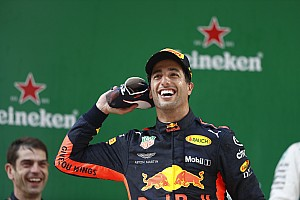 Formule 1 Actualités Ricciardo, du cœur brisé à la folie de la victoire