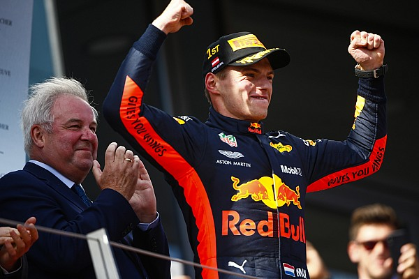 Verstappen showed