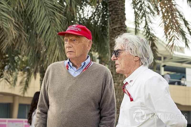 Lauda: Ecclestone'ın alternatif bir seri planı yok