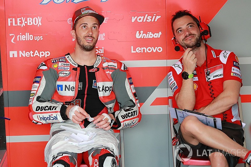 Dovizioso berharap balapan diguyur hujan