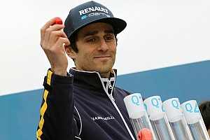 London ePrix: Prost on pole, rain catches out title contenders