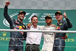 Formel 1 Rennbericht Formel 1 in Hockenheim: 49. Sieg von Lewis Hamilton – Strafe für Nico Rosberg