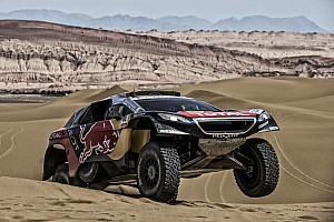 Cross-Country Rally Stage report Silk Way Rally – Leg 10 : Another Peugeot 2008 DKR formation-finish
