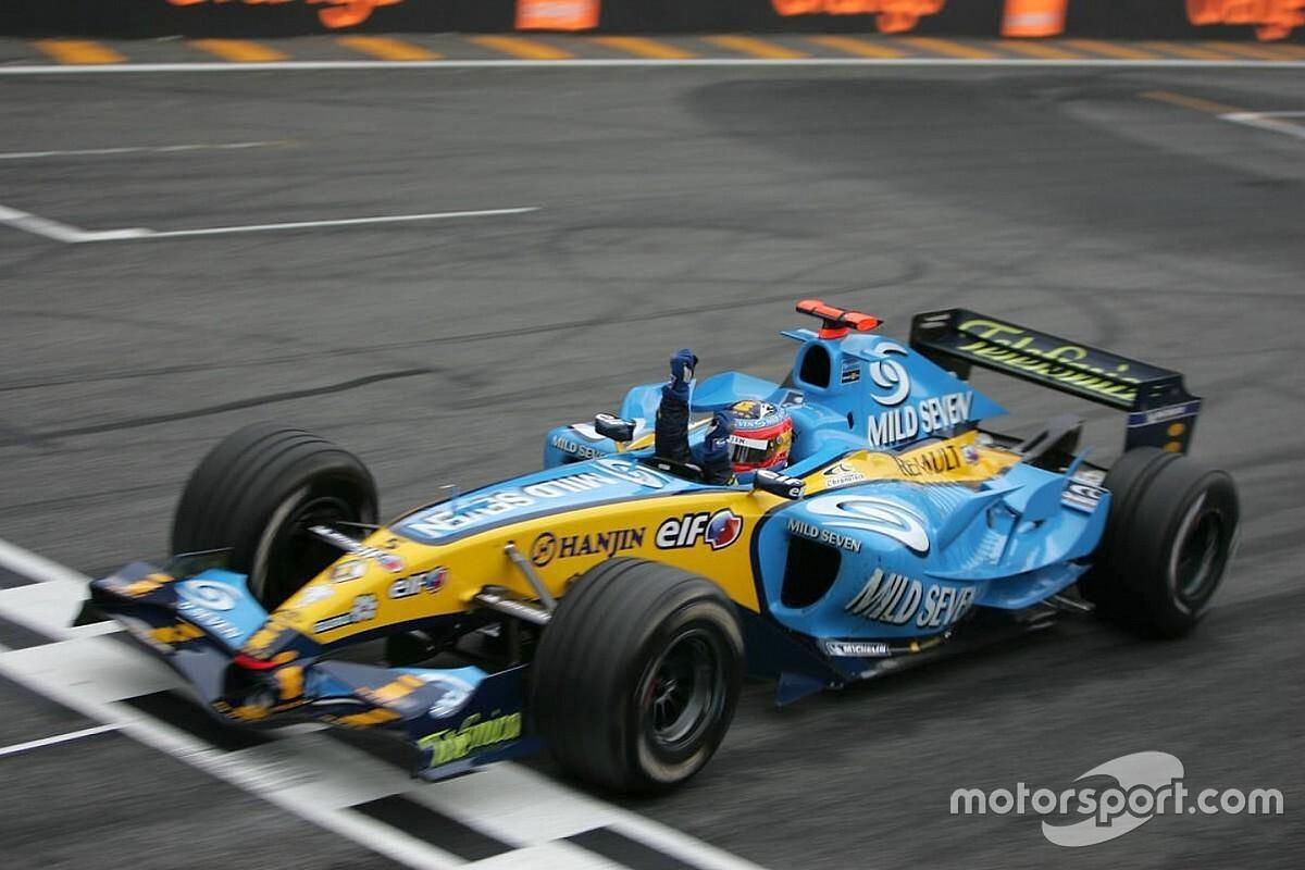 Galería: 13 años del primer título Mundial de Alonso