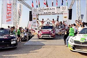 بطولة الشرق الأوسط للراليات تقرير القسم العطية يطارد الأرقام القياسية محققًا فوزه الـ 12 في رالي الأردن الدولي