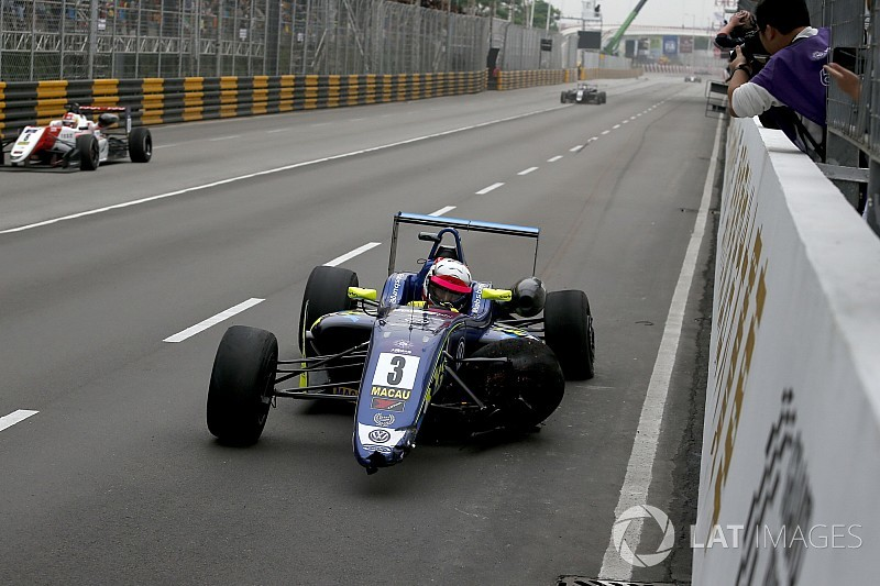 Habsburg: Last-corner Macau crash better than second place