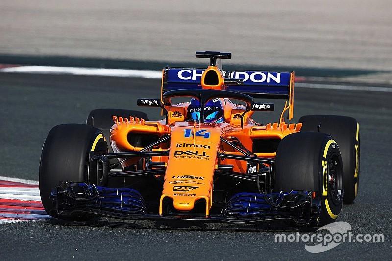 McLaren уже на трассе: первое фото и видео MCL33 с обкатки