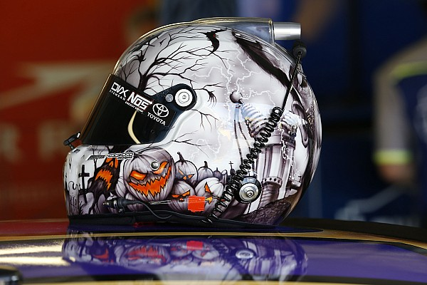 Bildergalerie: Der Halloween-Helm von NASCAR-Star Kyle Busch