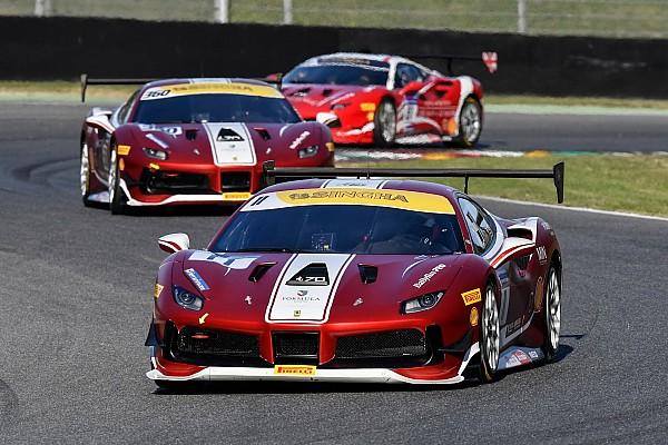 Ferrari Crónica de Carrera Nielsen vence a Leimer en la primera carrera de la Ferrari Challenge Europe