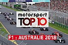 Vidéo - Le top 10 du Grand Prix d'Australie