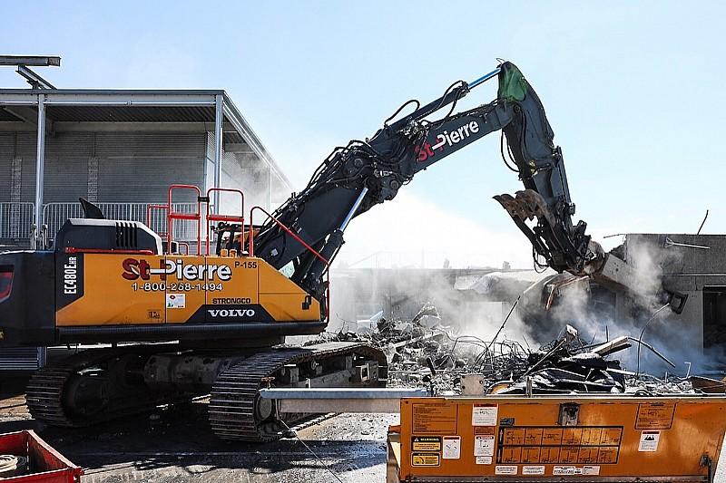 Iniziati i lavori di ristrutturazione a Montreal, i box sono stati demoliti