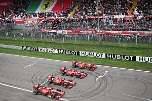 Il Ferrari Show infiamma le tribune di Monza per il gran finale delle Finali Mondiali