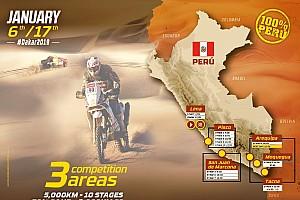 5.500 Kilometer durch Peru: Rallye Dakar gibt Route für 2019 bekannt
