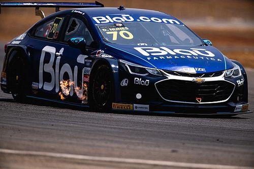 Stock Car: Diego Nunes lidera treino no misto de Goiânia