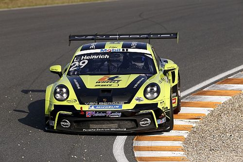 Porsche Supercup, Zandvoort: vince Heinrich, Iaquinta a podio