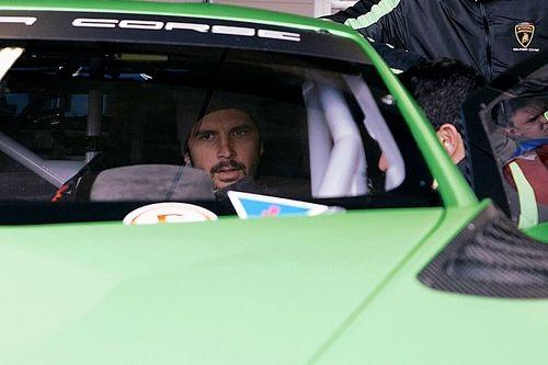 Jason Anderson ha provato la Lamborghini Huracan GT3 Evo