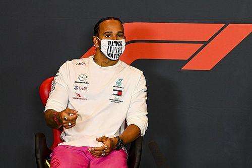 """Hamilton joga balde de água fria sobre GP em Ímola: """"Teremos uma corrida chata amanhã"""""""