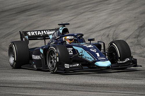 Gelael to make F2 return in Bahrain after fracturing spine