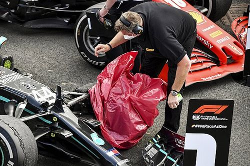 """Pirelli over oorzaak lekke banden: """"Combinatie van factoren"""""""