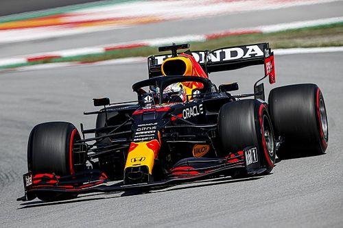 F1スペインGP決勝速報:レッドブルのフェルスタッペン、残り7周で首位陥落。ハミルトン優勝、角田はリタイア