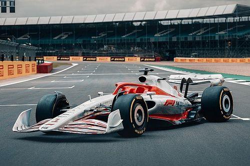 الكشف عن تصميم سيارة الفورمولا واحد لموسم 2022