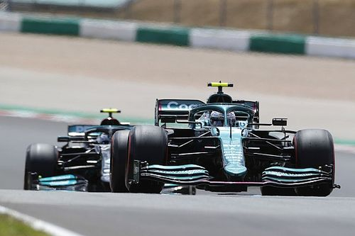 """Vettel: Aston Martin """"cannot be too greedy"""" in Portugal"""
