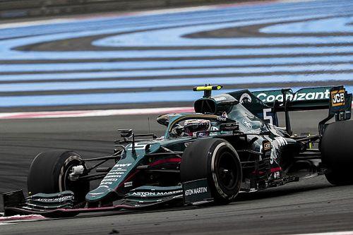 Aston espera que resultados en Francia callen críticas de neumáticos