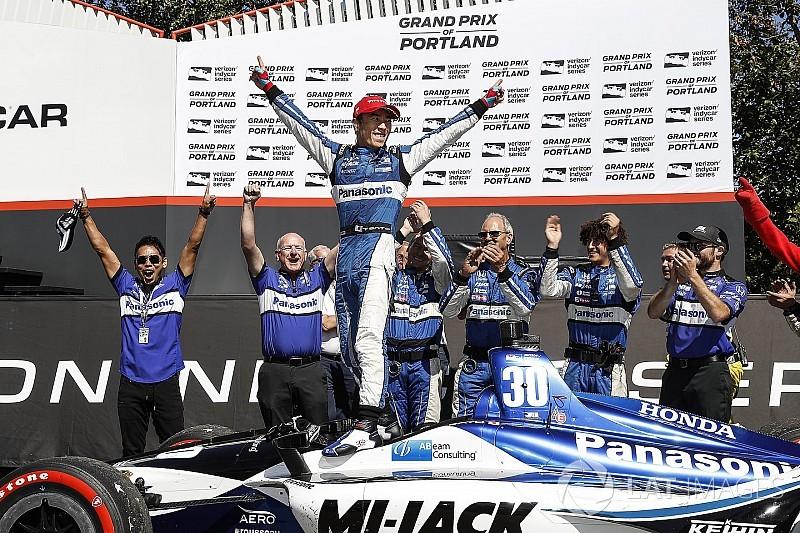 Portland IndyCar: Sato kazandı, Dixon puan farkını arttırdı