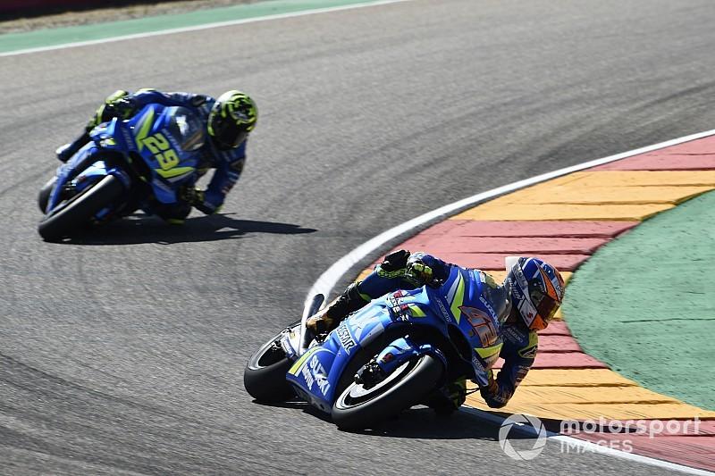 """Rins cree que ahora Suzuki """"tiene mejor moto"""" que Yamaha"""