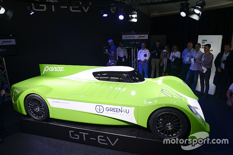 Panoz presenta el proyecto de un GT eléctrico para Le Mans