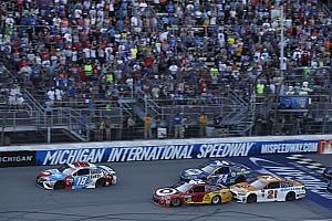 NASCAR Sprint Cup Entrevista Larson cambió la oportunidad perdida en Dover con la victoria en Michigan