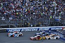 NASCAR Cup Larson redeems missed opportunity at Dover with winning Michigan pass