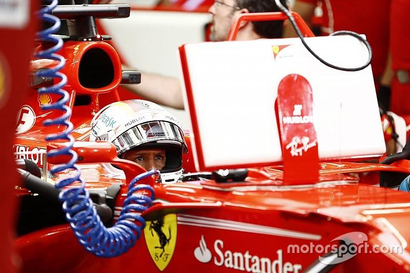 Ferrari замінила турбіну на машині Феттеля