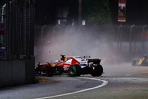 Fórmula 1 Entrevista Vettel no sabe qué sucedió en el accidente en Singapur