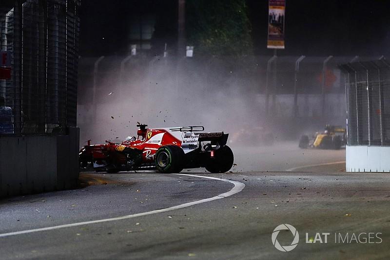 A Ferrari csapatfőnökének arca mindent elmond