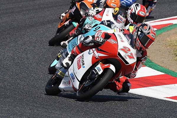 Moto3 【Moto3】鳥羽海渡「3周目から、ブレーキが効きにくくなってしまった」
