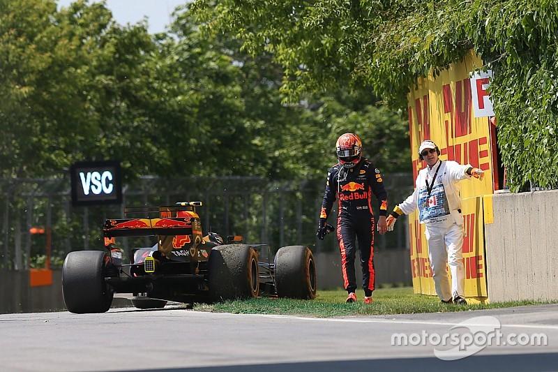 Verstappen pudo terminar segundo, según Horner