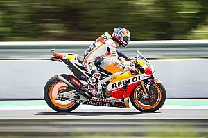 MotoGP Relato de classificação Pedrosa lidera primeira fila da Honda em Jerez; Rossi é 7º