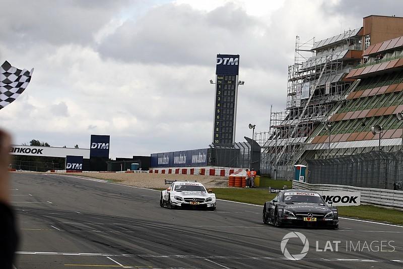 DTM 2017 am Nürburgring: Doppelsieg für Mercedes am Sonntag