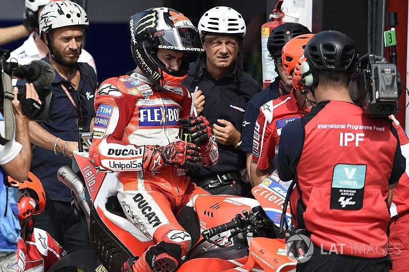 Lorenzo a encore besoin de temps pour bien exploiter la Ducati